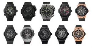 Watches from the Big Bang King Power Collection
